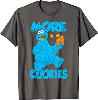 Cookie Monster More Cookies T Shirt T-Shirt