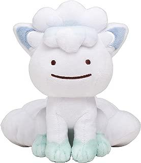 Pokemon Center Original (6-Inch) Stuffed Poke Plush Doll Ditto Alolan Vulpix (Metamon Alola Rokon)