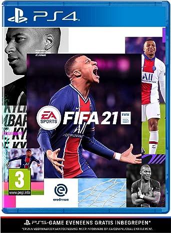 Amazon.nl-FIFA 21 (PS4 inclusief kostenloze upgrade naar PS5) - NL versie-aanbieding