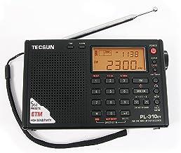 ARBUYSHOP TECSUN PL-310ET Mundial de banda completa de onda corta de radio FM AM interruptor LW DSP Receptor Digital Demodulación radio estéreo