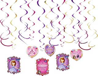 Foil Swirl | Disney Sofia The First Collection | Party Accessory