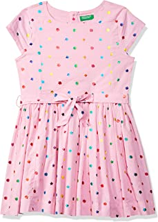 United Colors of Benetton Cotton a-line Casual Dress