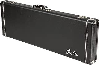 Fender Deluxe Strat/Tele Case, Black w/ Orange Plush Interior