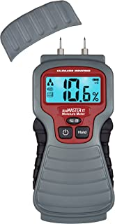 Calculated Industries 7440 AccuMASTER XT Digital Moisture Meter | Handheld |Pin Type | Backlit LCD Display | Detects Leaks...