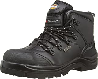 Dickies Men's Talpa S3 Safety Boots FD9208 Black 12 UK, 47 EU Regular - EN safety certified