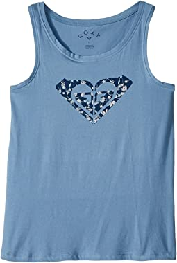 Roxy Kids - Sunny Afternoon Beyond Way Logo Tank Top (Big Kids)