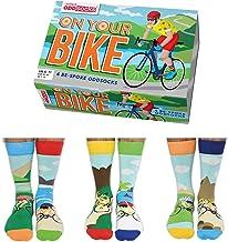 On Your Bike - United Oddsocks - 6 Oddsocks for Men UK 6-11