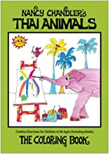 Nancy Chandler's Thai Animals Coloring Book, 2nd Edition