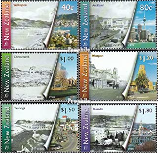 New Zealand 1729-1734 (Complete.Issue.) 1998 Cities (Stamps for Collectors)