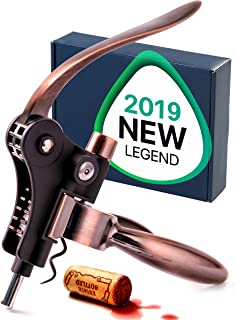 ORIGINAL PRODUCT from RedNoel - Wine Opener - Wine Accessories - Wine Corkscrew - The Best Wine Tool Kit For Women - Large Manual Rabbit Wine Set For Men - Lever Cork Opener