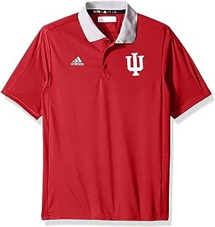 adidas Indiana Hoosiers NCAA 2017 Sideline Coaches Polo Shirt - Red
