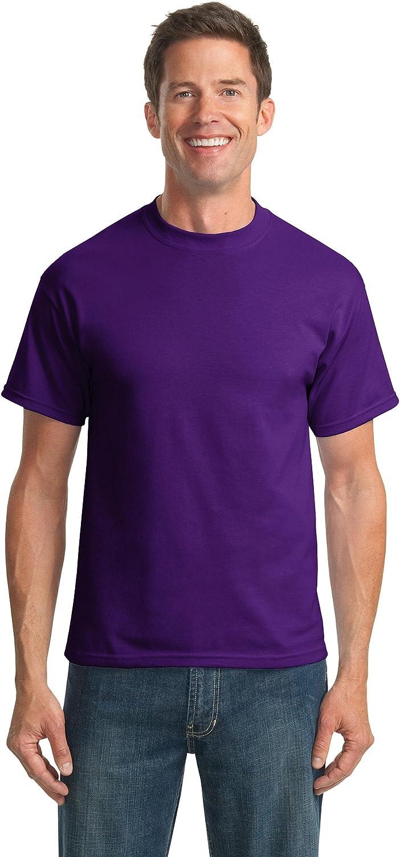 Port & Company Tall 50/50 Cotton/Poly T-Shirts>2XLT Purple PC55T