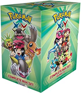 Pokemon X & Y, Complete Box Set: Includes vols. 1-12 (Pokemon Manga Box Sets)