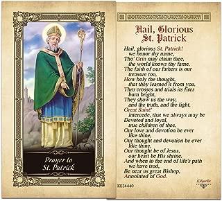 Hail, Glorious St. Patrick Laminated Prayer Card - Pack of 10