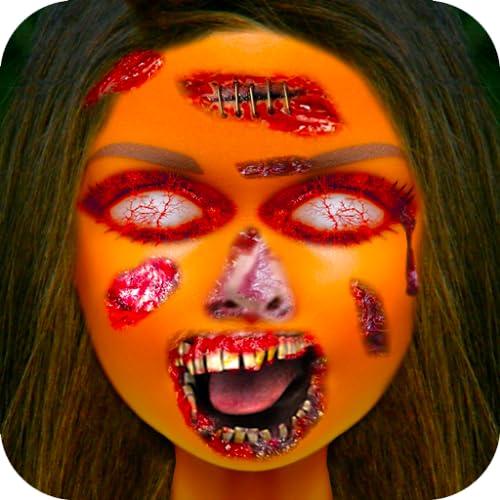 Prank Makeup Fake Face