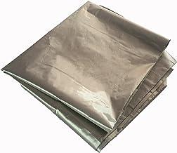 JWtextec Conductive Fabric EMI Shielding Plain Style Copper/Nickel Coating Fabric (39.37x19.685 Inches(1mX0.5m))