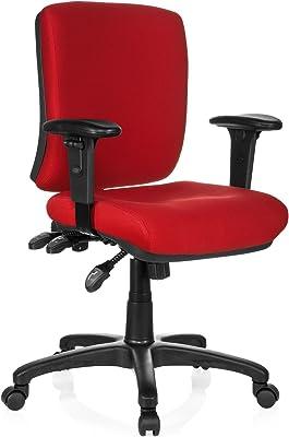 HJH Office Zenit Base Silla de Oficina, Rojo, 45 x 56 x 114