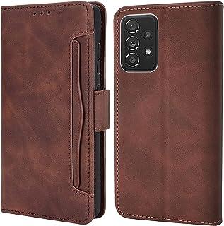 Upgrade für Samsung Galaxy A72 Hülle Leder Handyhülle Original für Samsung A72 Handytasche Premium Flip Case Cover Schutzh...