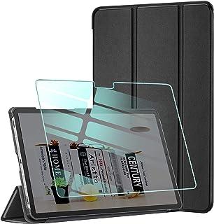 AROYI Funda y Protector de Pantalla Compatible con Samsung Galaxy Tab A7 10.4 2020(T505/T500/T507) Funda Tríptica Smart Co...