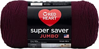 Red Heart Super Saver Jumbo Yarn, Claret