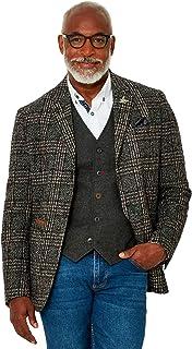 Joe Browns Mens Textured Smart Check Button Up Blazer