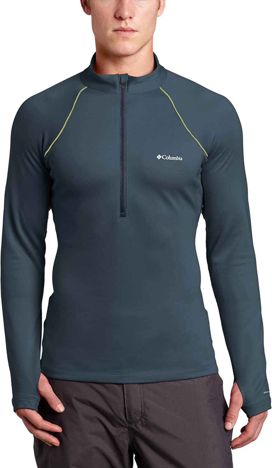 Columbia Men's Expedition Long Finally resale start Special price for a limited time Sleeve 1 2 Shirt Zip