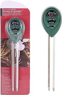 Avikoit Upgraded Soil Moisture Light PH Meter 3 - in - 1 Plant Care Soil Sensor Tester Kit Gardening Test Kits for Home Garden Lawn Farm Herbs Indoor Outdoor (No Battery Needed)