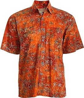 Cool Nights Tropical Hawaiian Batik Cotton Shirt