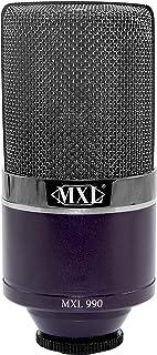 MXL Condenser Microphone, Midnight (MXL990MIDNIGHT)