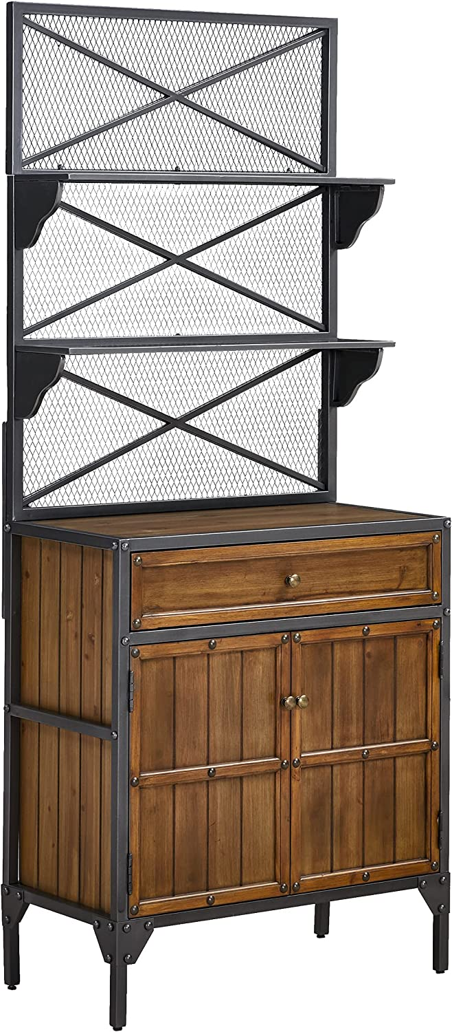 Southern Enterprises Bexfield Bakers sold out Rack gray Cheap super special price