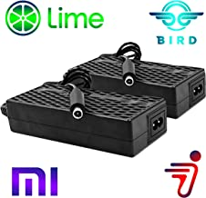 Heavy Duty 2 Pack Bird Lime Electric Scooter Chargers UL Certified Compatible with Xiaomi Mijia m365 Segway Ninebot ES 1 2 4 by Titan Pack