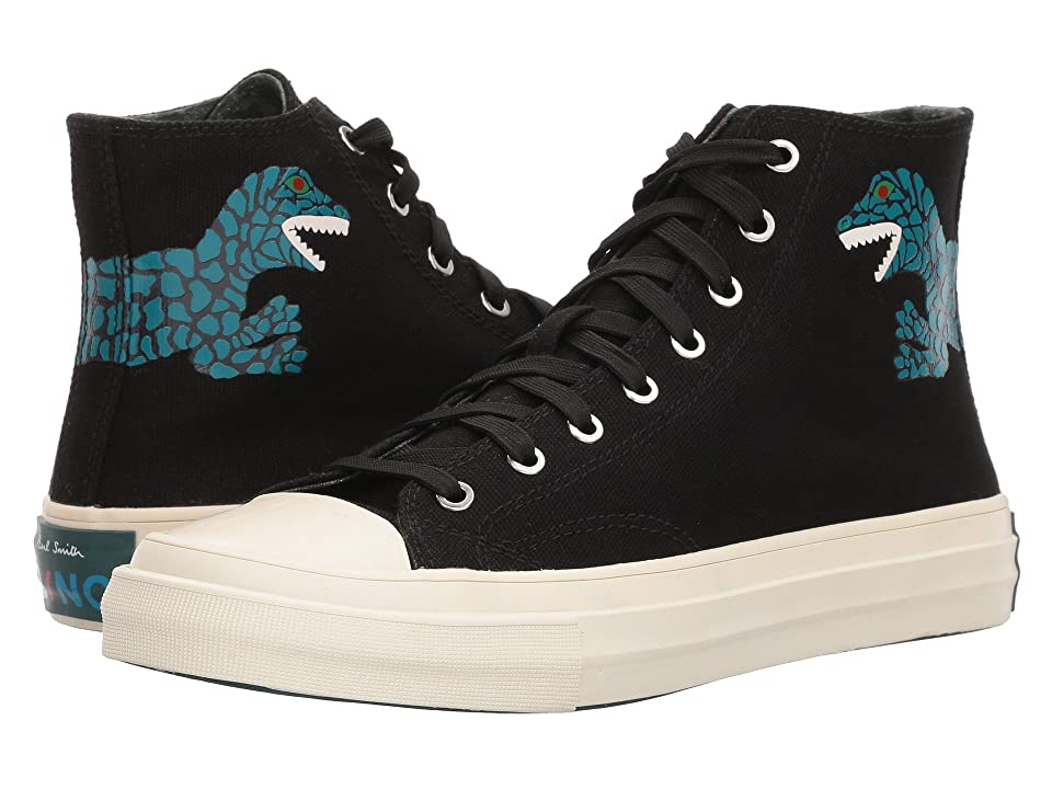 Paul Smith PS Kirk Hightop (Black Canvas) Women