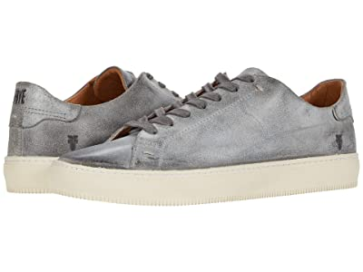 Frye Astor Low Lace (Charcoal Waxed Vintage Suede) Men
