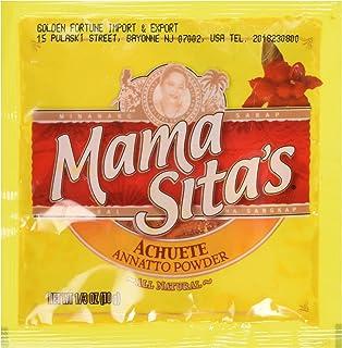 Mama Sita's Achuete Annatto Powder ALL Natural (Pack of 4x10g)