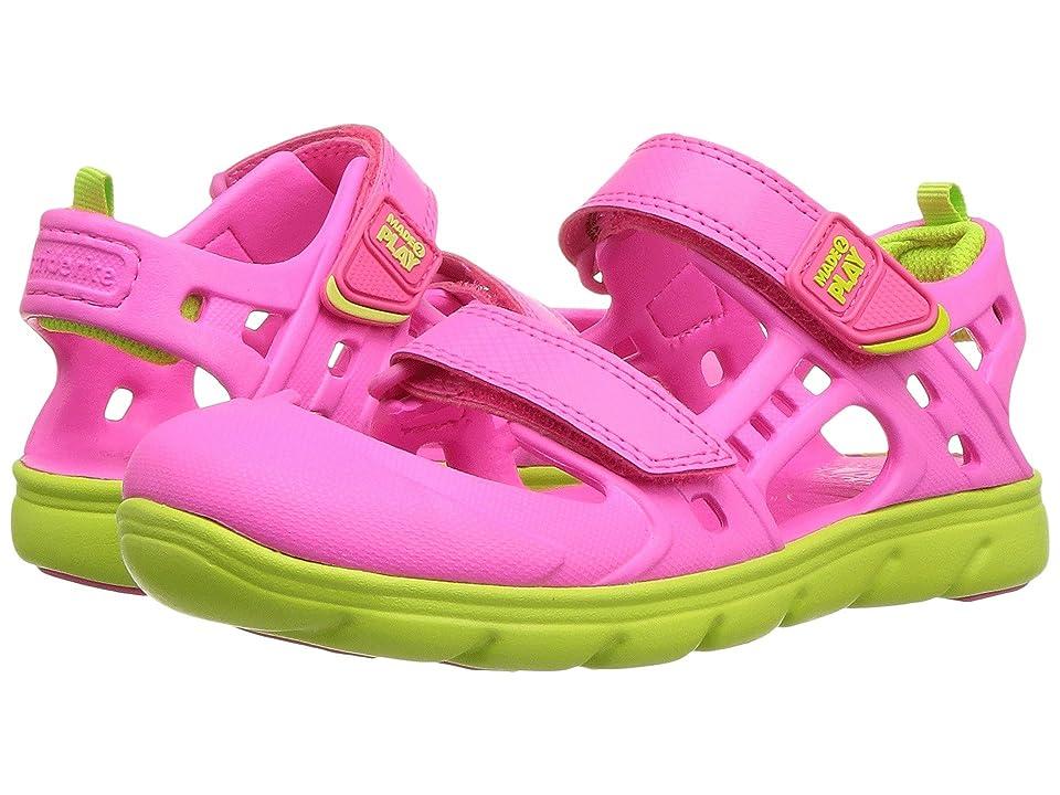Stride Rite Made 2 Play Phibian Sandal (Little Kid) (Pink) Girls Shoes