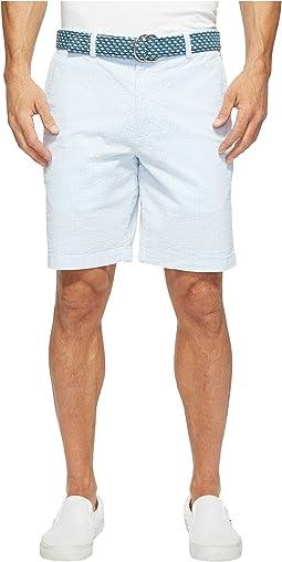"""9"""" Seersucker Breaker Shorts"""