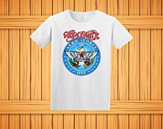 Wayne's World Garth Aerosmith T-shirt Halloween Costume White Shirt Toddler Youth Adult Lady Fitted sizes