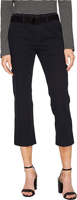 Vince - Belted Crop Flare Pants