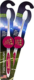 Worthy Promotional NCAA Georgia Tech Toothbrush 2-pack. Sturdy Design, Soft Bristles