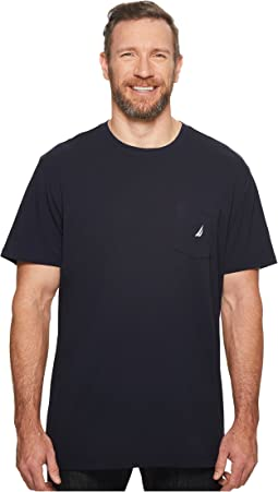 Nautica Big & Tall - Big & Tall Short Sleeve Anchor Pocket Tee