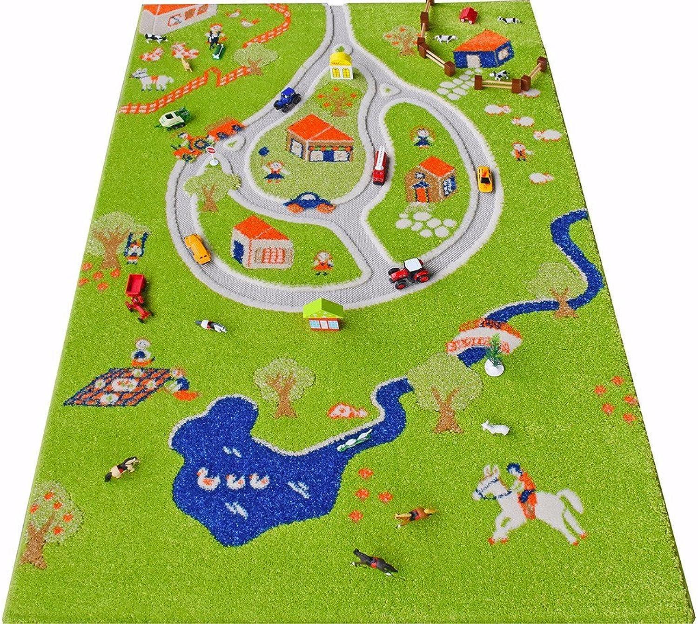 IVI Farm 3D Play Rugs, Large