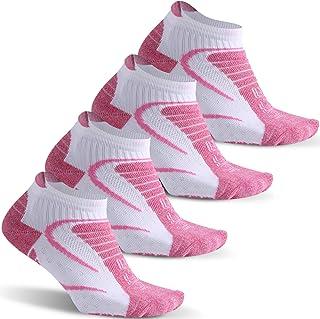 Facool Women's Moisture Wicking Athletic Cushion Hiking Camping Running Walking Ankle Socks 6 Pairs