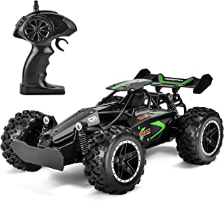 Rainbrace RC Racing Car Remote Control Car High Speed RC Car Fast RC Truck Rechargeable Radio Controlled Car RC Race Car Toys for Boys Girls Kids Age 5 16 Year Old Gift Present Black