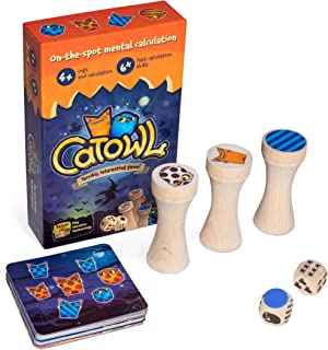 Divertidos Juegos de Mesa de Preescolar de matemáticas, Juegos educativos para 4 niños de 5 años, contando Gatos y búhos