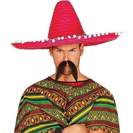 FIESTAS GUIRCA Maxi Sombrero Mexicano 60 cm Sombrero Mexicano Disfraz
