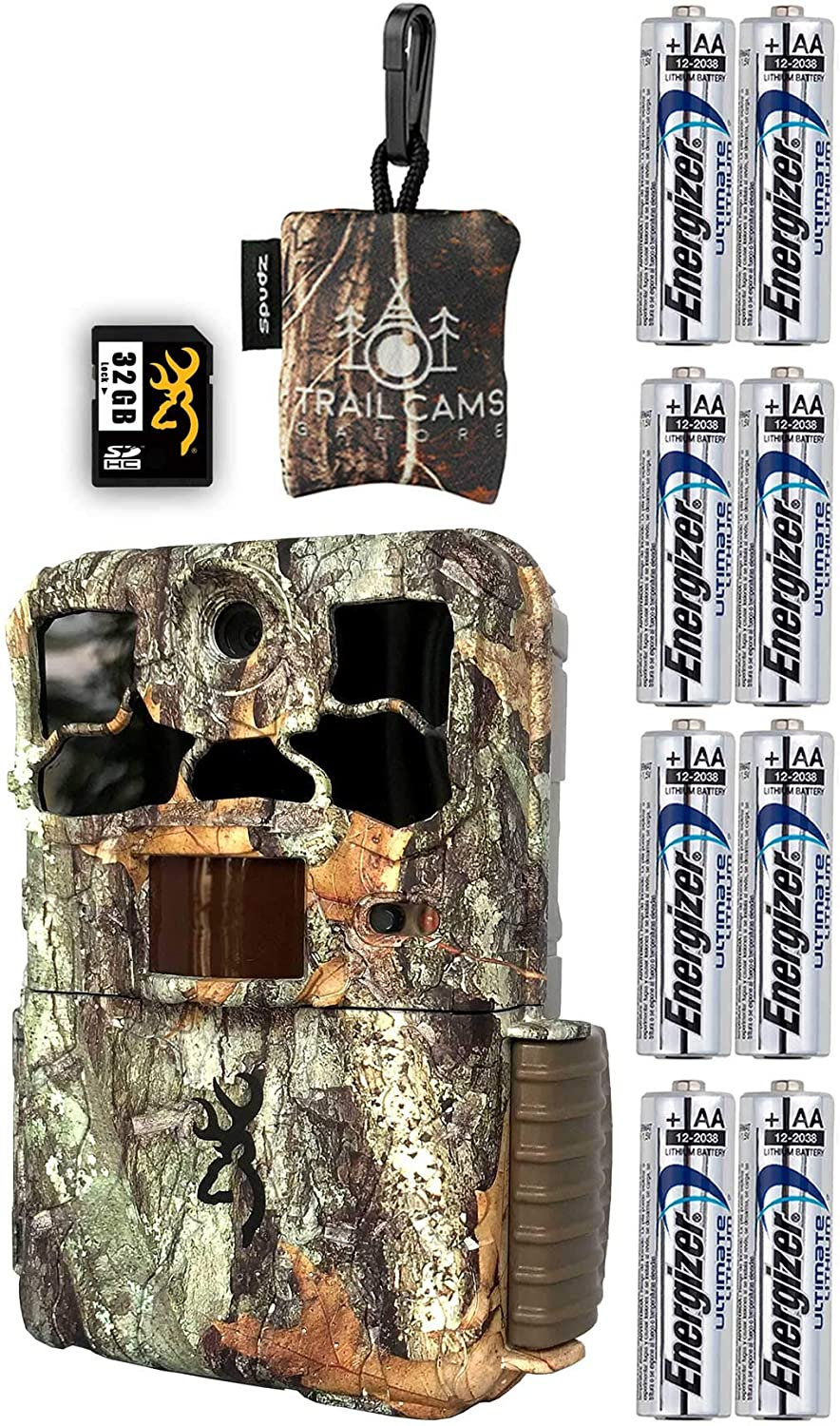 Browning Spec Ops Edge Camera with Spudz Latest item Max 69% OFF Card and SD Batteries