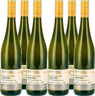Weingut Mees RIESLING TROCKEN 2019 KREUZNACHER PARADIES LAGENWEIN Prämiert Weißwein Wein Deutschland Nahe Paket 6 x 750 ml 100% Riesling