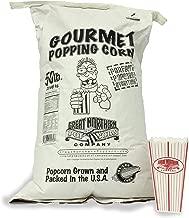 4103 Great Northern Popcorn Yellow Gourmet Popcorn Bulk Bag Premium Grade, 50 Pound