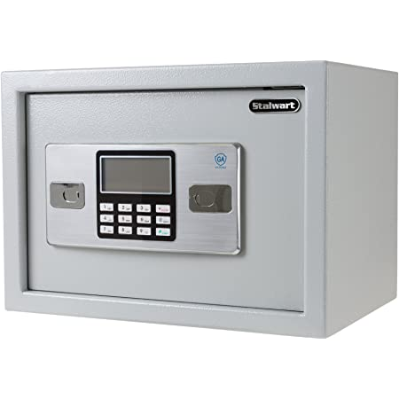 Business or Travel Leoneva Home Office Security Keypad Lock Electronic Digital Steel Safe Protect Money Jewelry Passports-for Home