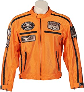 Amazon.es: chaquetas para moto - Naranja